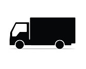 box car silhouette design illustration, silhouette style design, designed for icon and animation