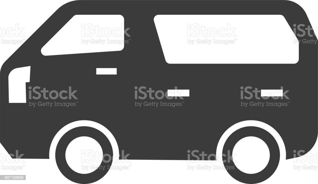 ボックス車シルエット アイコン ひとそろいのベクターアート素材や画像