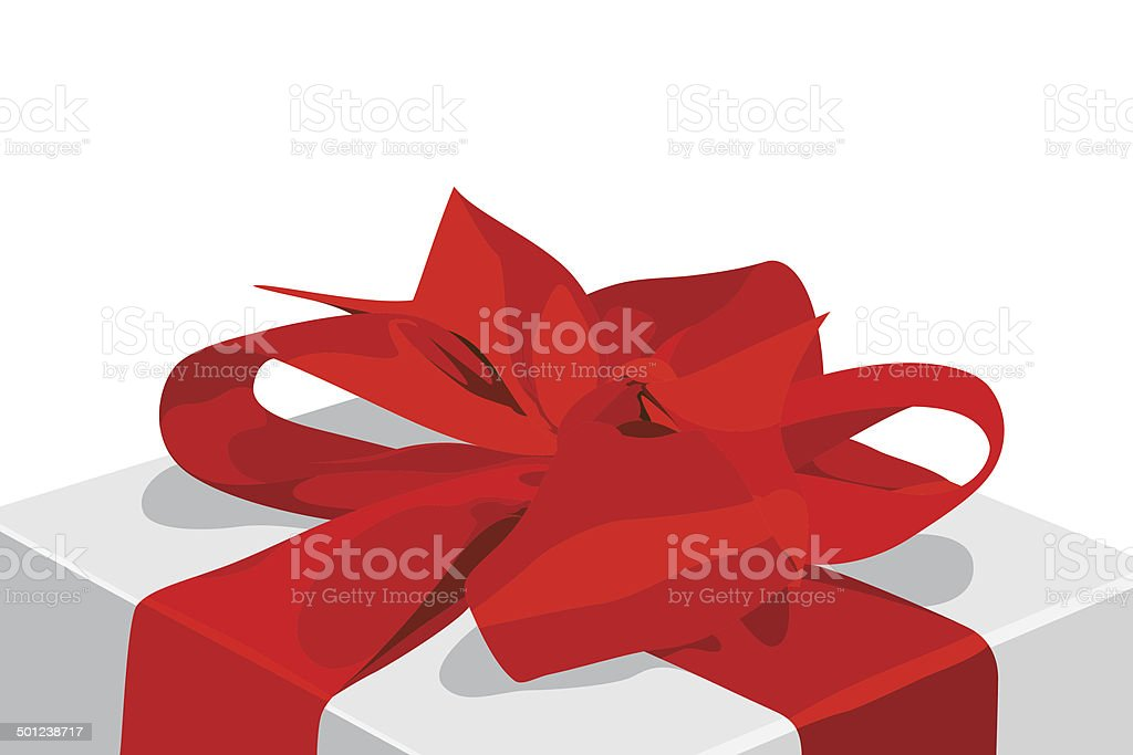 Box Gift vector art illustration