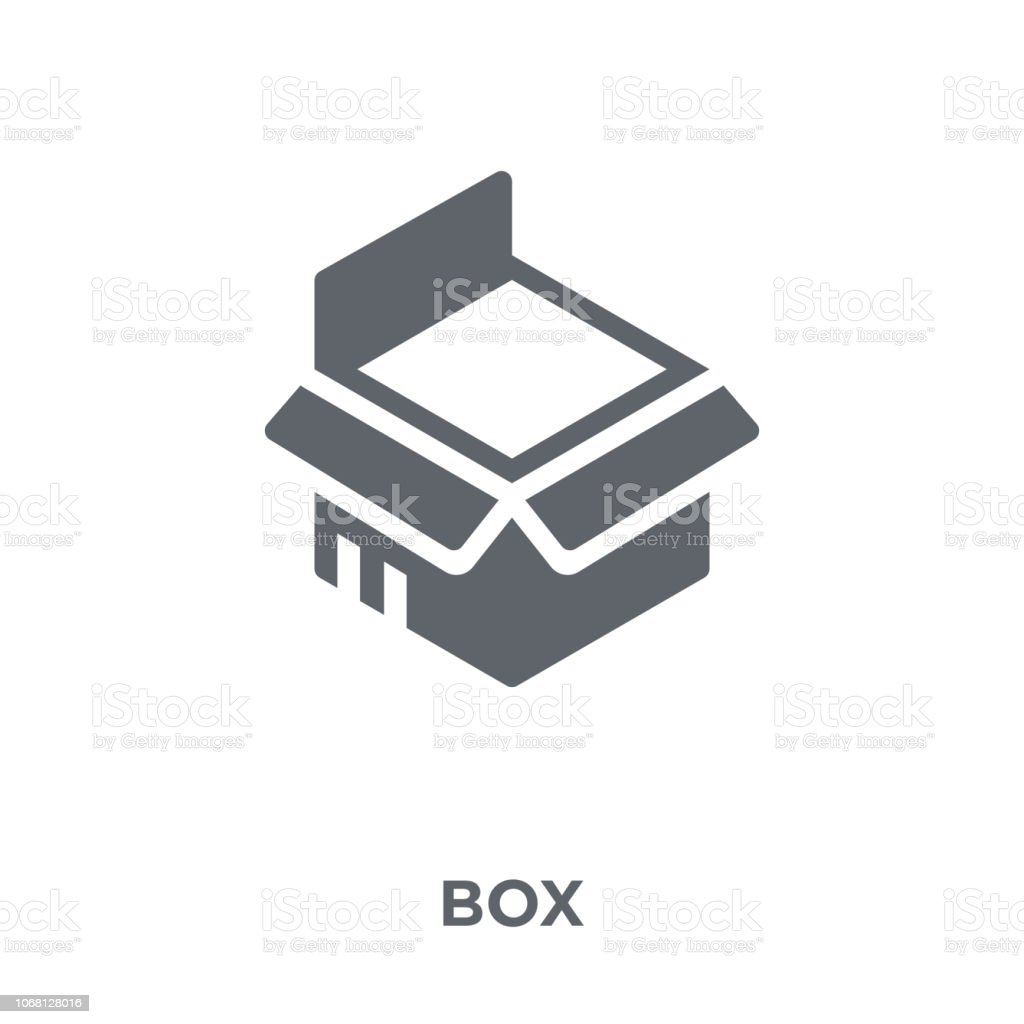 Box icon from Delivery and logistic collection. vector art illustration