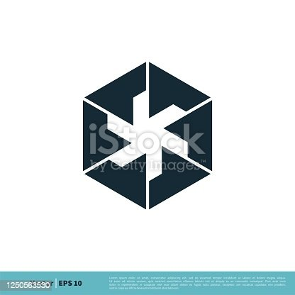 istock Box Icon Vector Logo Template Illustration Design. Vector EPS 10. 1250563530