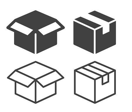 Box - Illustration Icons