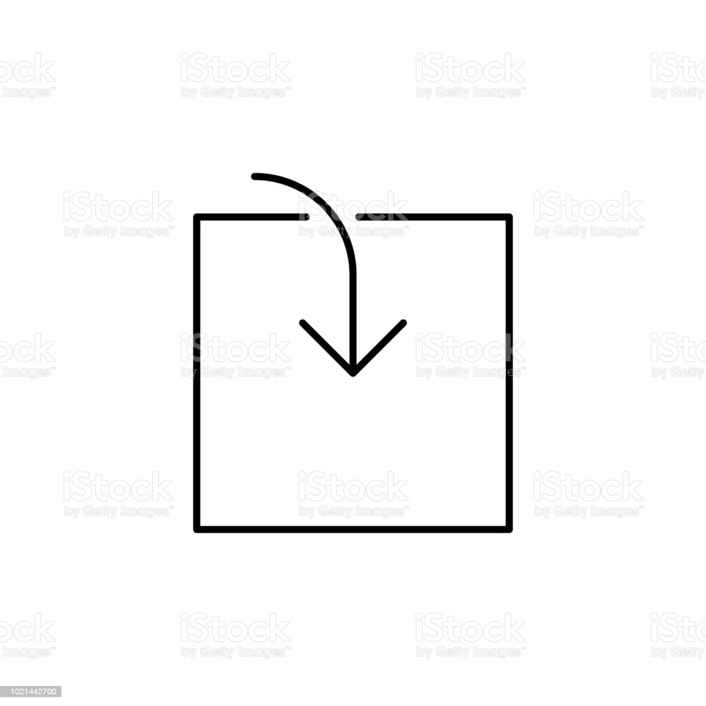 Box Loading Symbol Icon Element Of Simple Icon For Websites Web