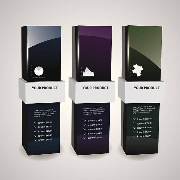 ボックスモデルルーム - グランドオープン点のイラスト素材/クリップアート素材/マンガ素材/アイコン素材