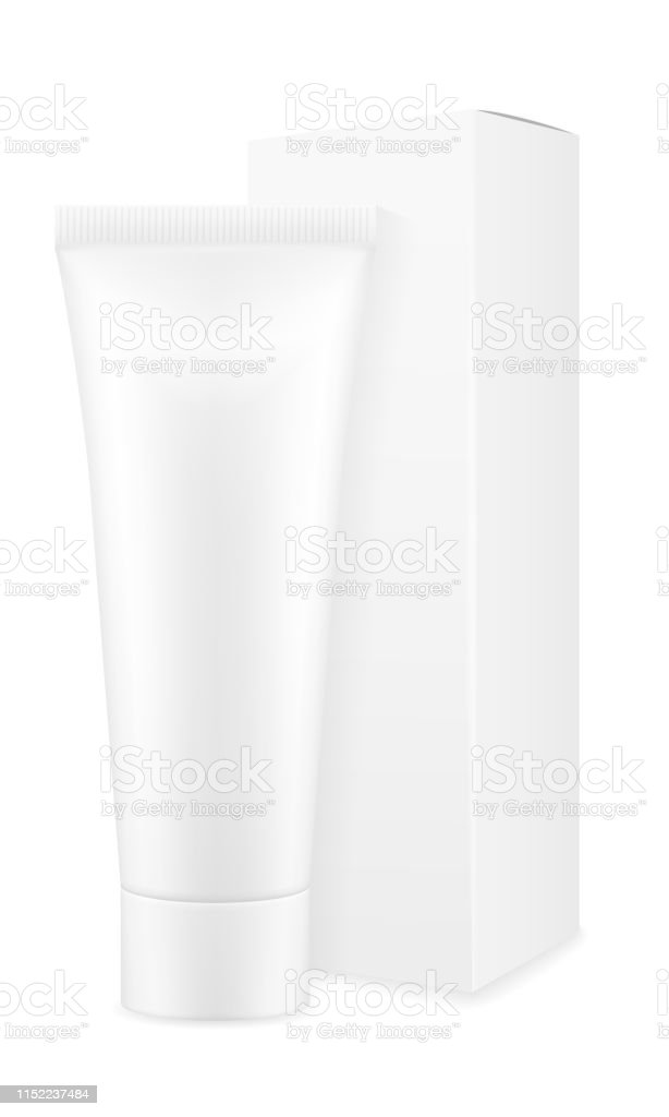 Box Packaging And Tube Of Toothpaste Empty Template For Design Stock Vector Illustration Stock Illustration Download Image Now Istock