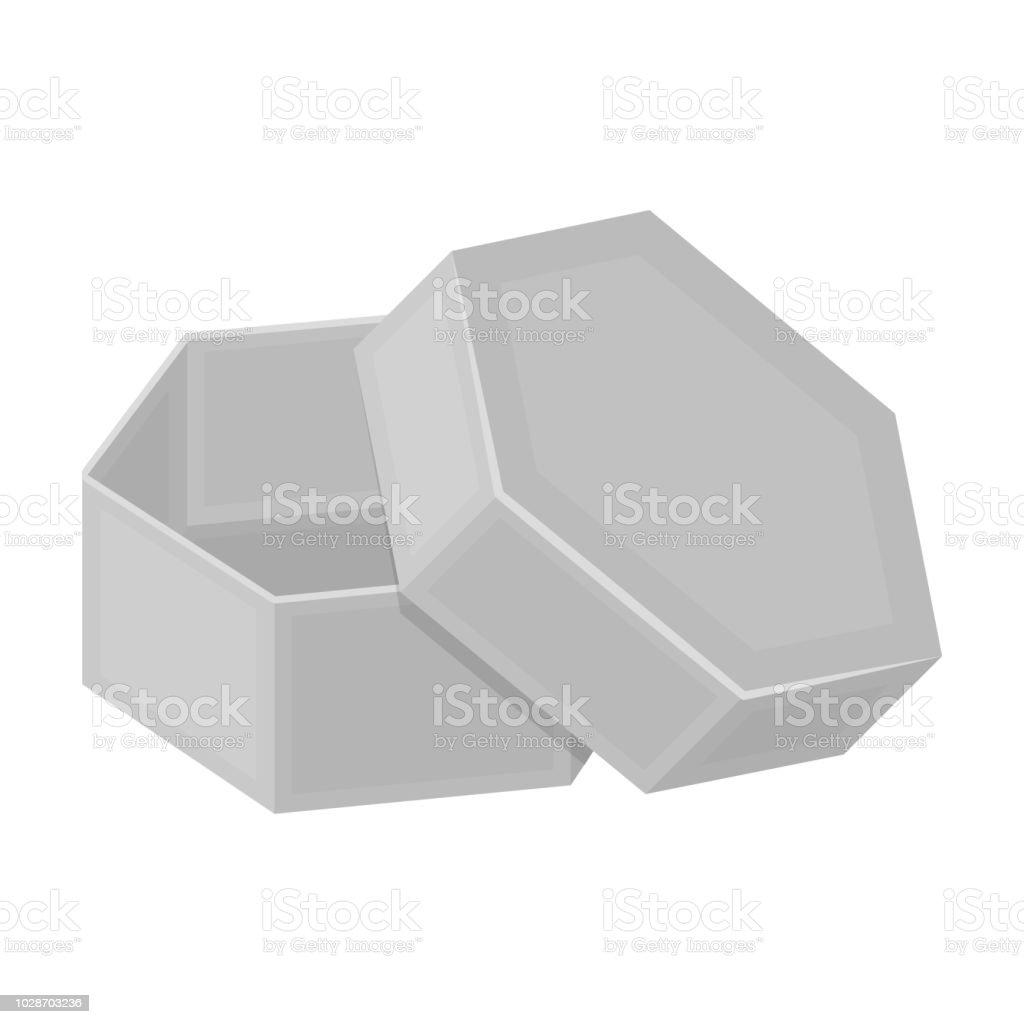 Schachtel Verpackung Papier Und Andere Websymbol Im