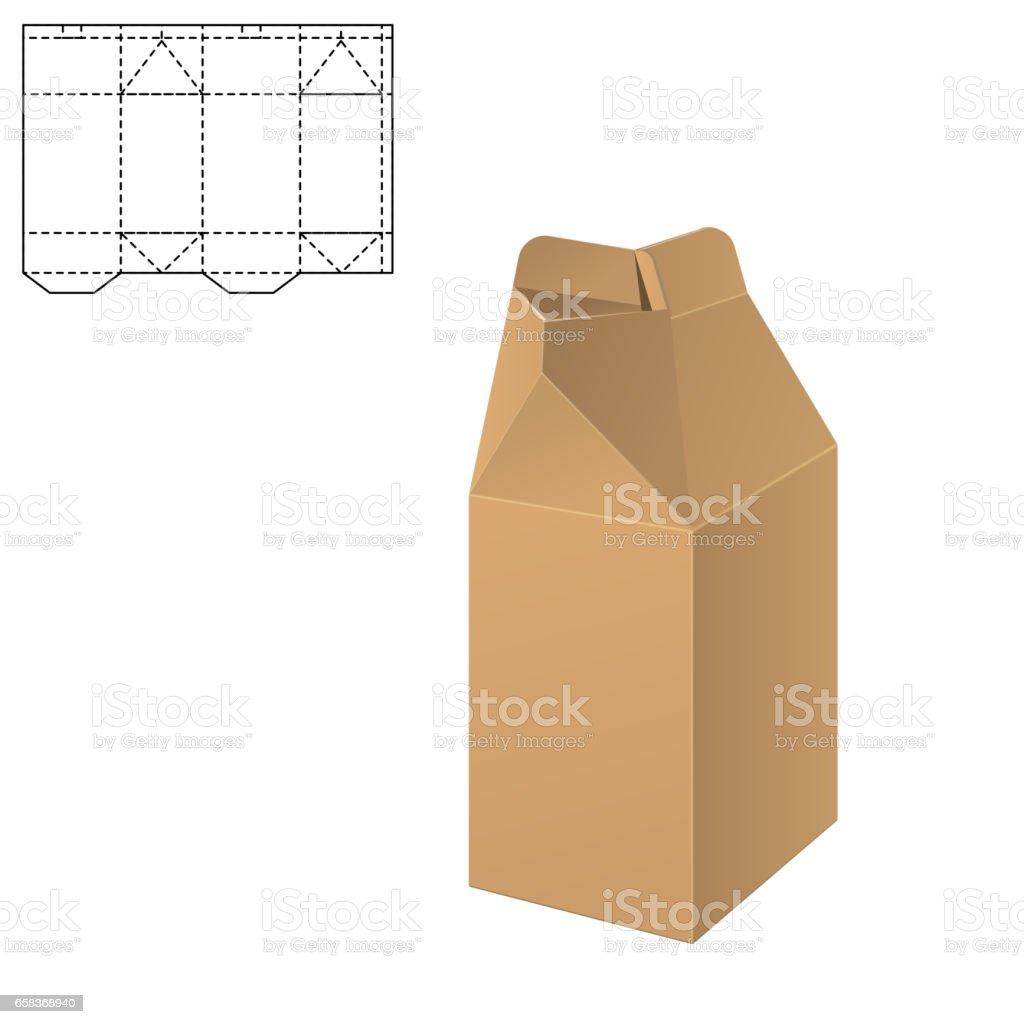 Vector De Plantilla De Caja - Arte vectorial de stock y más ...