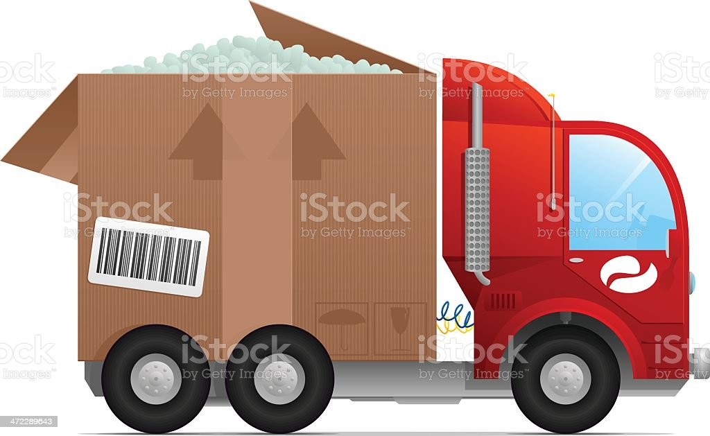 Box Truck royalty-free box truck stock vector art & more images of adhesive tape