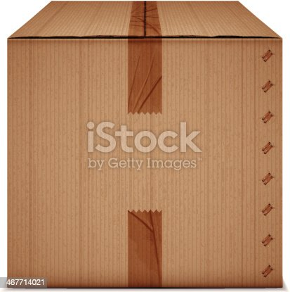 box with tape
