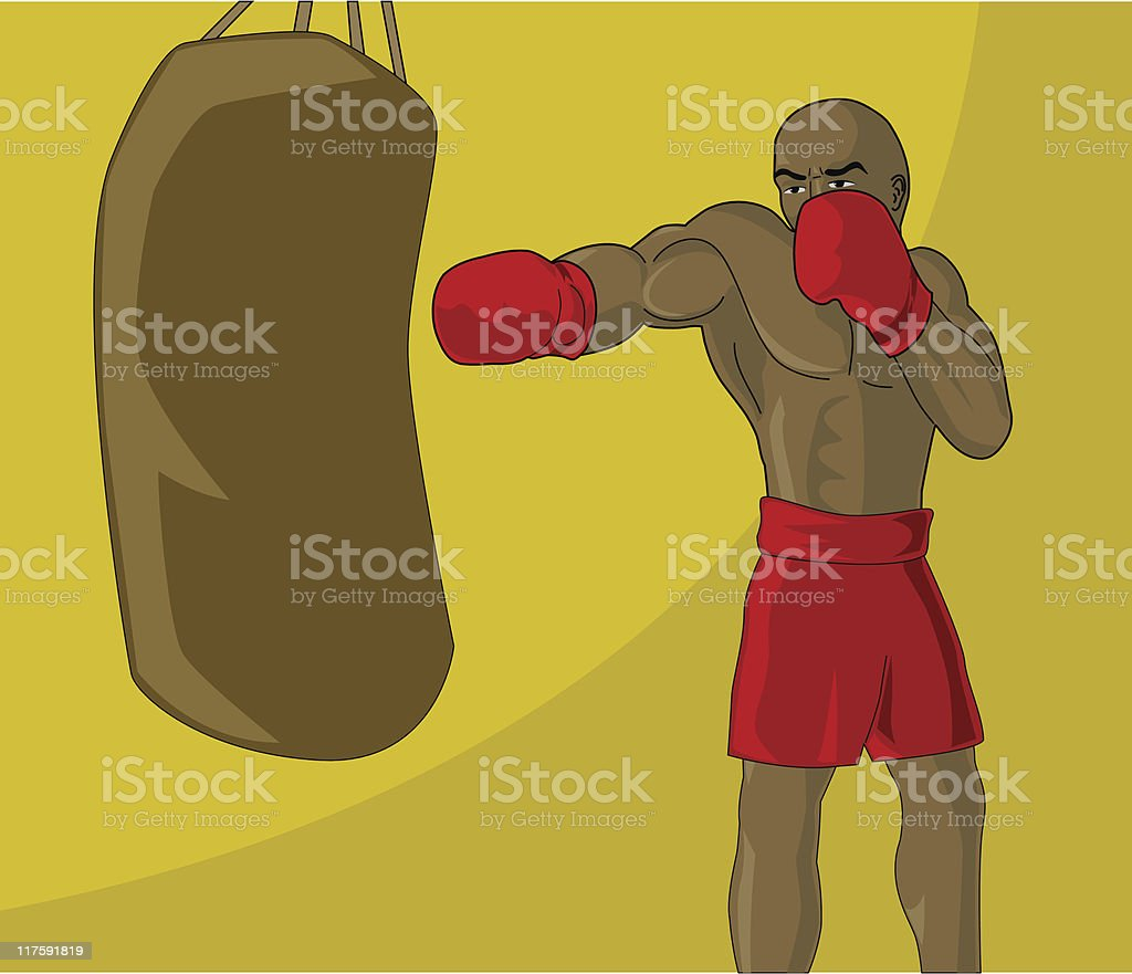 boxer royalty-free boxer stock vector art & more images of abdominal muscle
