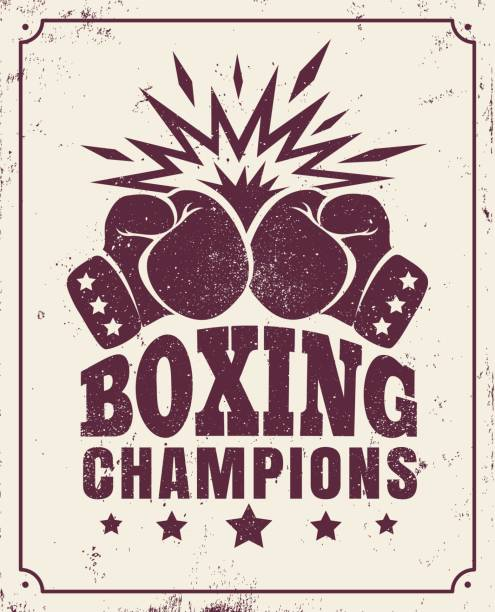 boxing champions - boxing gloves stock illustrations, clip art, cartoons, & icons