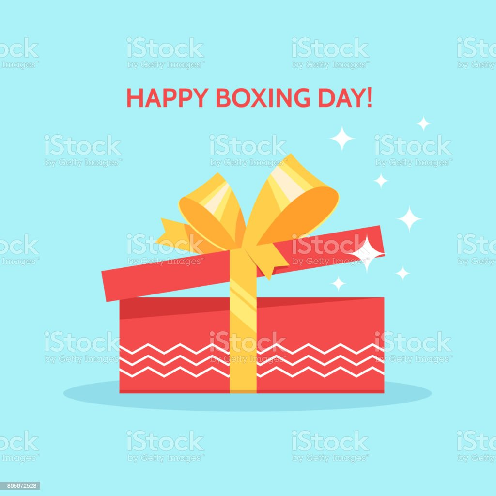 Boxing Day-design – Vektorgrafik