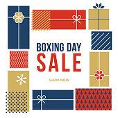 Boxing Day Sale advertisement - Illustration