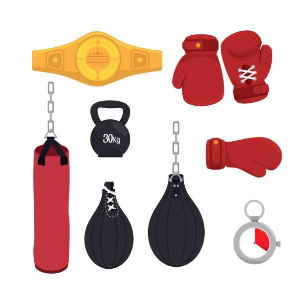 Boxing design vector art illustration
