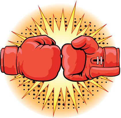 Boxing Gloves Crushing