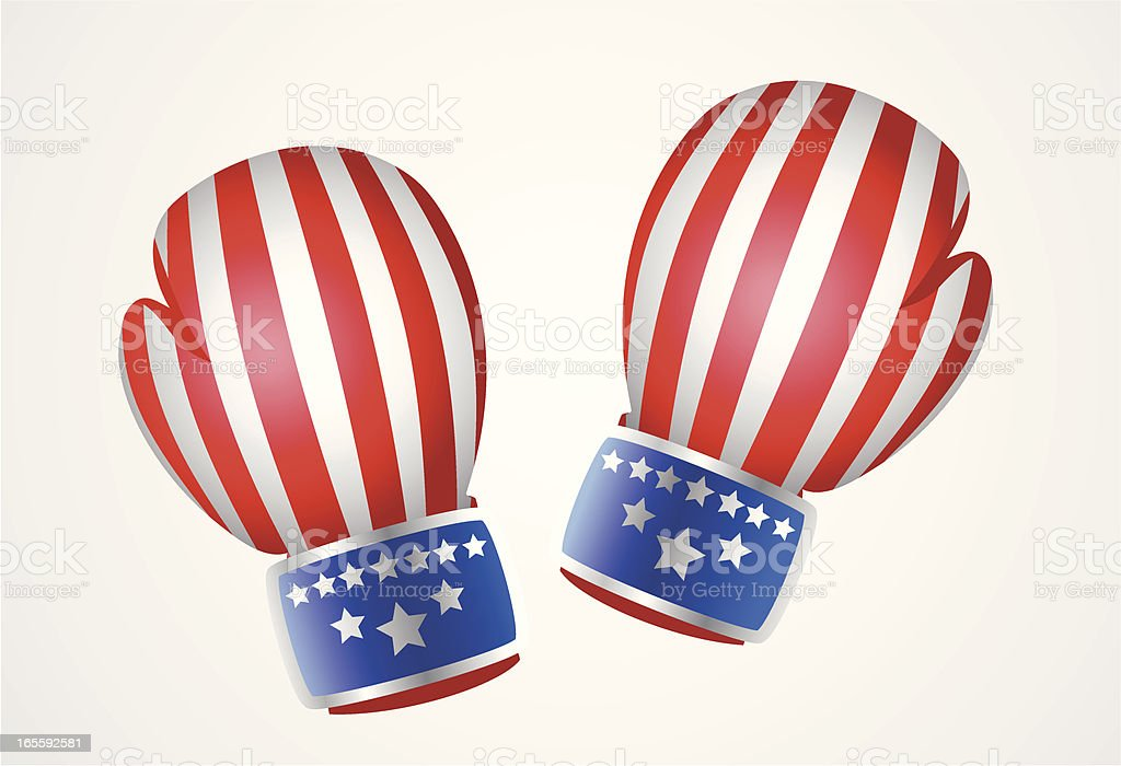US Boxing Gloves royalty-free us boxing gloves stock vector art & more images of american culture