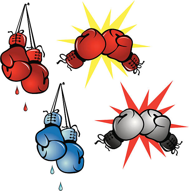 Royalty Free Boxing Glove Clip Art, Vector Images & Illustrations - iStock