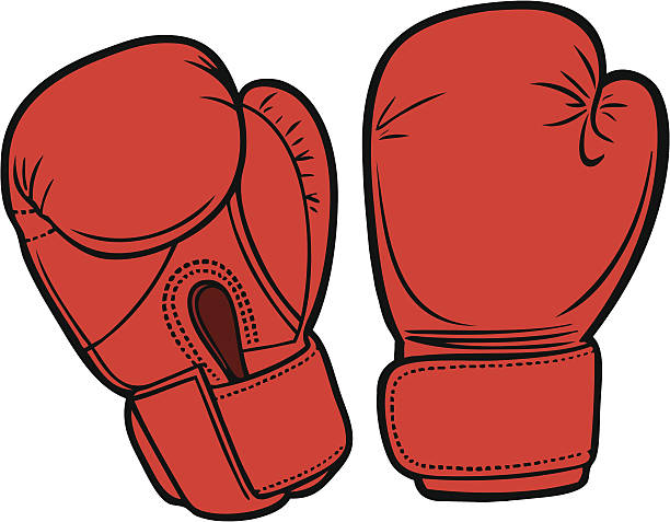 Boxing Gloves Boxing Gloves individual event stock illustrations