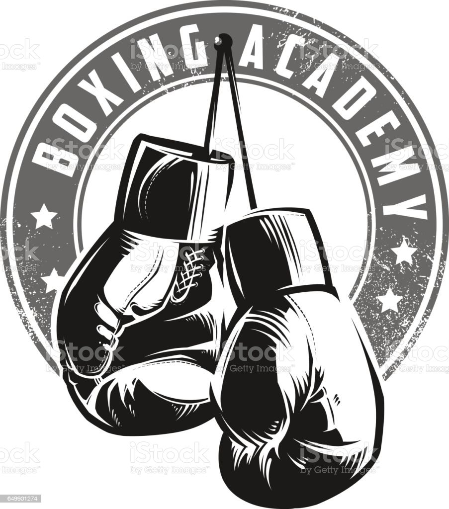 royalty free boxing gloves clip art vector images illustrations rh istockphoto com Heavy Bag Boxing Gloves Boxing Match Clip Art