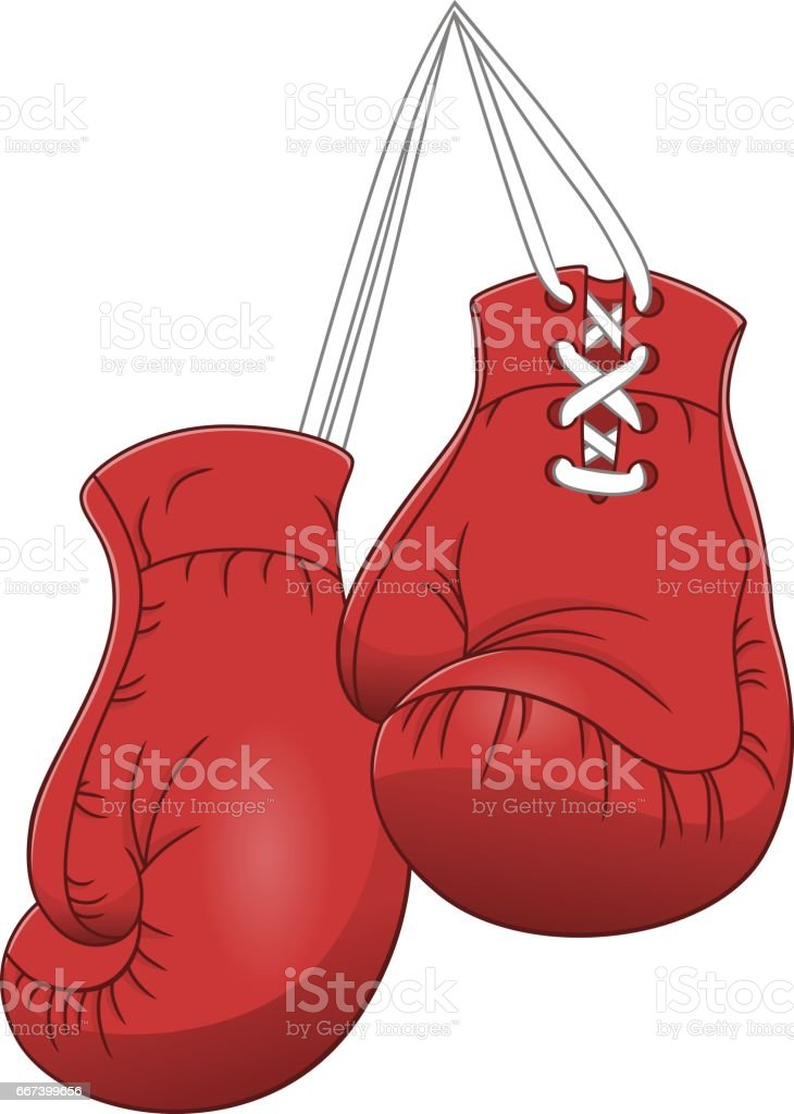 royalty free boxing gloves hanging clip art vector images rh istockphoto com boxing glove clipart boxing glove clipart outline
