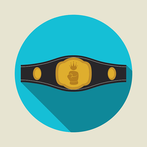boxing label design vector illustration eps10 graphic vector art illustration