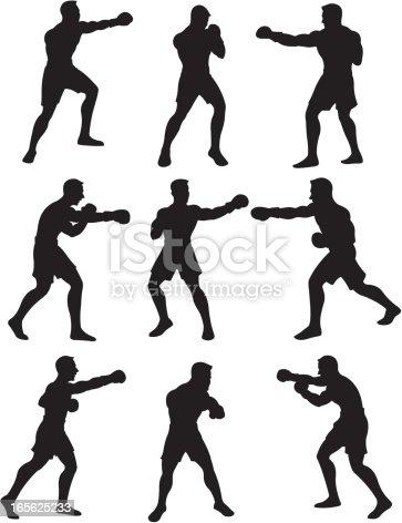 Boxing Silhouetteshttp://www.twodozendesign.info/i/1.png