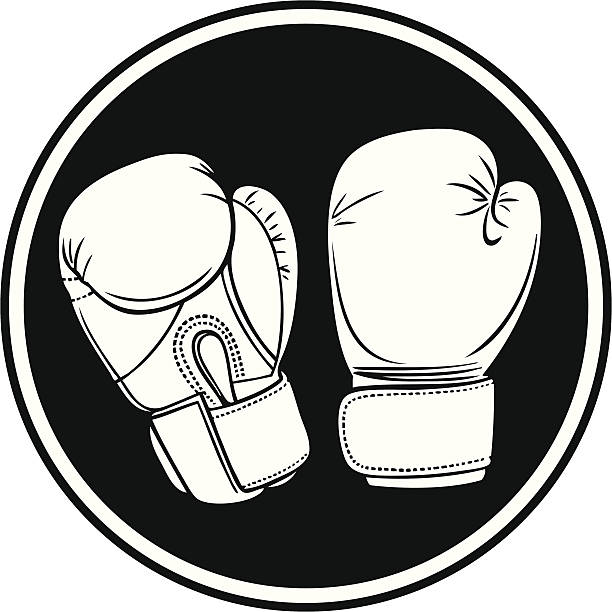 Best Boxing Glove Illustrations, Royalty-Free Vector ...  |Boxing Gloves Vector Clipart