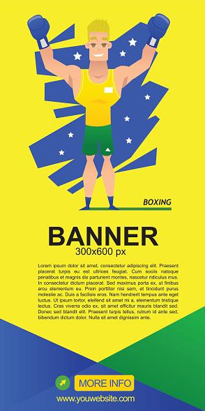 boxing web banner design