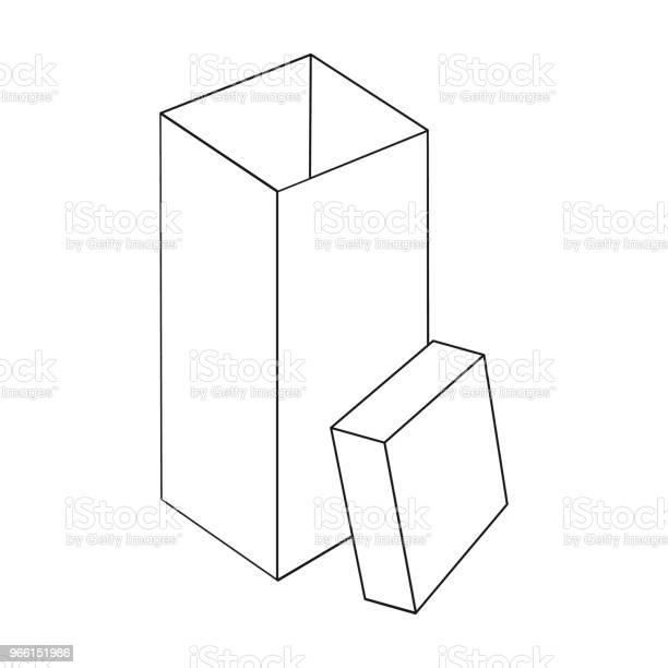 Boxning Inslagning Fall Och Andra Webikonen I Dispositionsformat Box Behållare Paketet Ikoner I Set Samling-vektorgrafik och fler bilder på Behållare