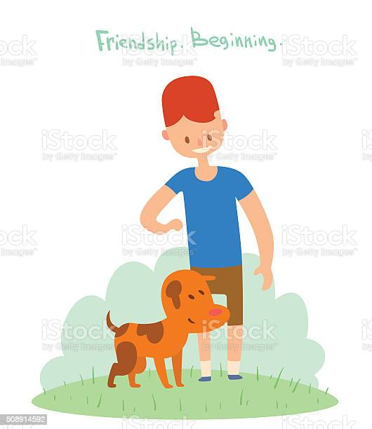 Boy and dog friends vector illustration vector id508914592?b=1&k=6&m=508914592&s=612x612&h=fz tfue4nlpwefictei0pgkyrttugnjs6talujxrx5k=