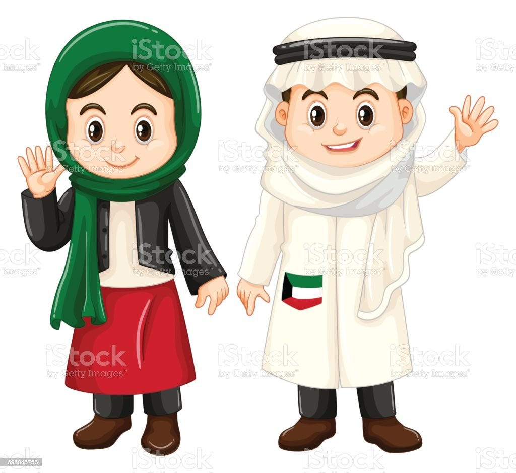 royalty free clip art of cute arab girls clip art vector images rh istockphoto com clip art of girl softball clipart of girl praying