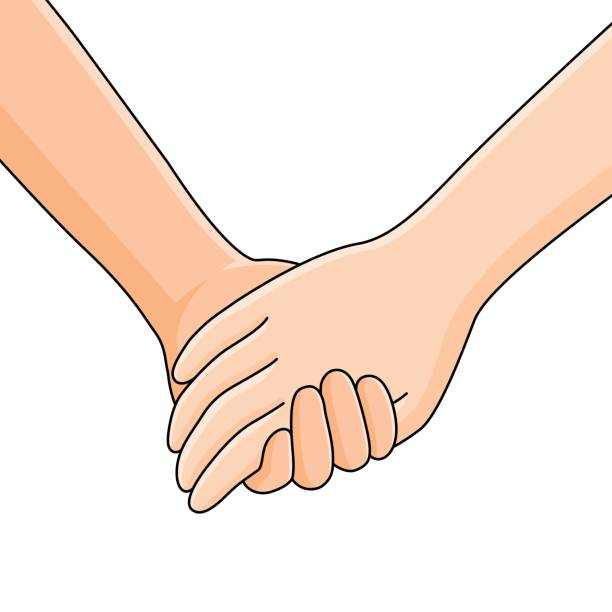 Best Holding Hands Illustrations, Royalty-Free Vector Graphics & Clip Art - iStock