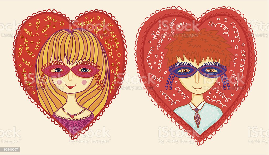 Boy and girl in love royalty-free boy and girl in love stock vector art & more images of boys