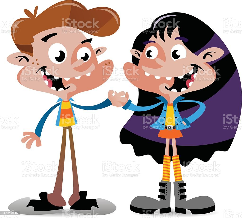 Boy and Girl royalty-free boy and girl stock vector art & more images of boyfriend