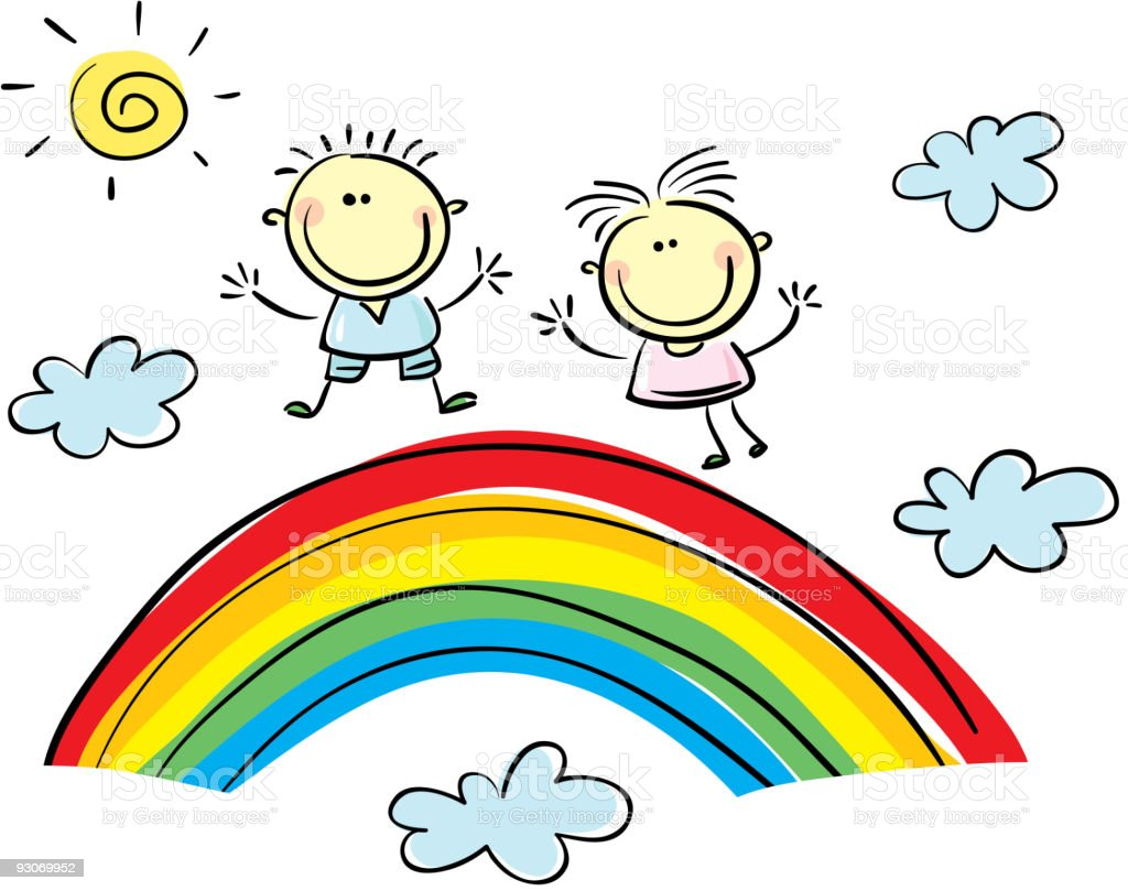 Boy and girl royalty-free boy and girl stock vector art & more images of baby