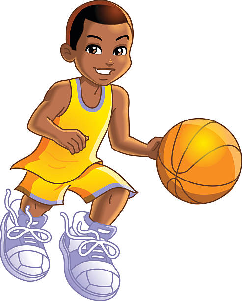 Royalty Free Basketball Player Clip Art, Vector Images ...