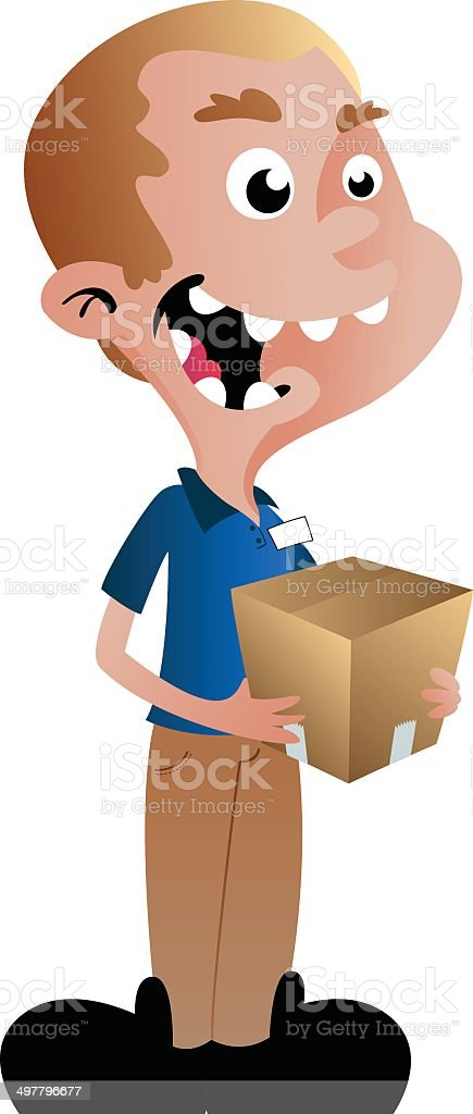 Boy Box royalty-free boy box stock vector art & more images of box - container