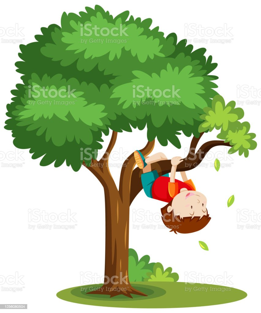 Boy Climbing The Tree Cartoon Style Isolated On White Background Stock Illustration Download Image Now Istock Gograph has the graphic or image that you need for as little as 5 dollars. boy climbing the tree cartoon style isolated on white background stock illustration download image now istock
