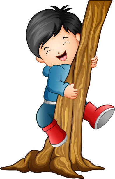 Top 60 Child Climbing Tree Clip Art Vector Graphics And