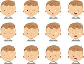 Vector Boy face expressions
