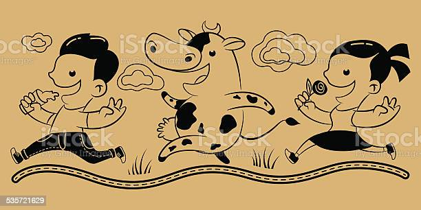 Boy girl cow milk vector id535721629?b=1&k=6&m=535721629&s=612x612&h=maxlosudl9oow9 qsao78rskvj2vw7zd4hwejczllok=