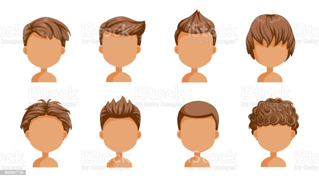 Boy Hair Rear View Stock Illustration Download Image Now Istock