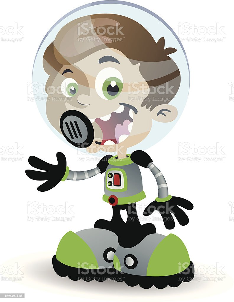 Boy in a Spacesuit royalty-free boy in a spacesuit stock vector art & more images of adventure