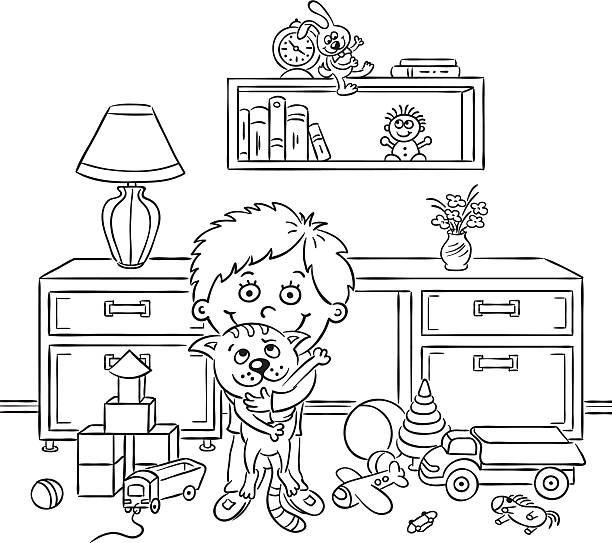 Messy Room Clip Art, Vector Images & Illustrations