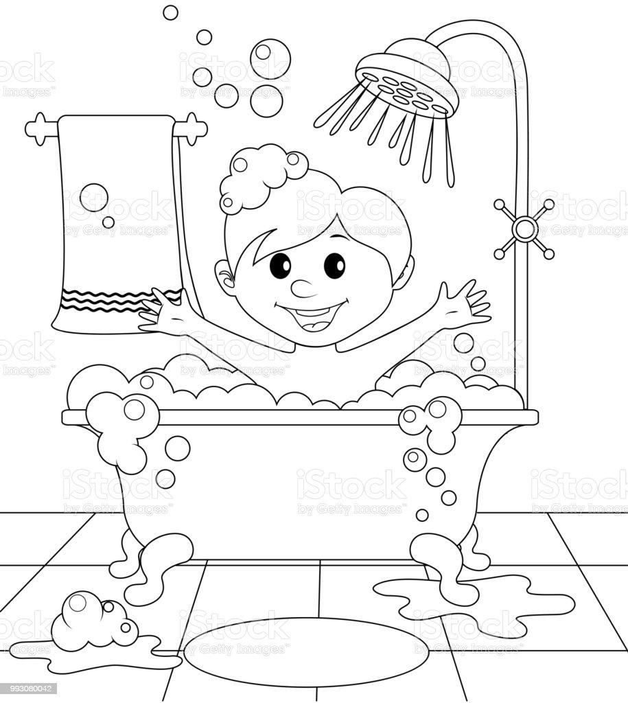 Dibujo Fácil Para Un Cuarto Baño  los angeles