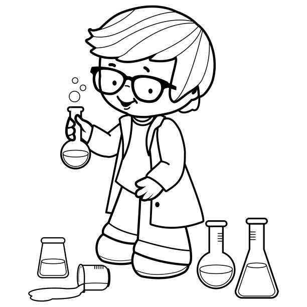 School Science Project Illustrations, Royalty-Free Vector ...