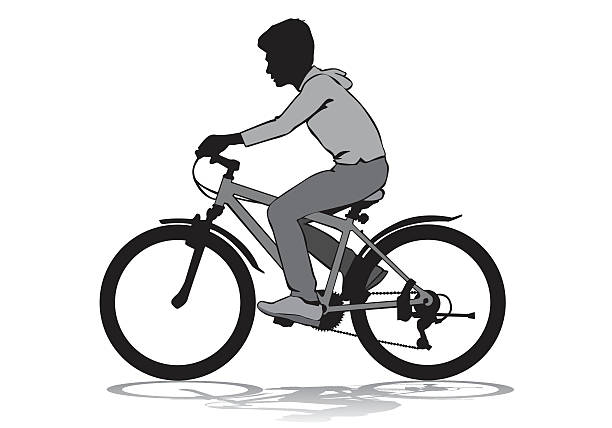 Best Learning To Ride A Bike Illustrations, Royalty-Free ...