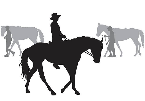 boy の馬 - 乗馬点のイラスト素材/クリップアート素材/マンガ素材/アイコン素材