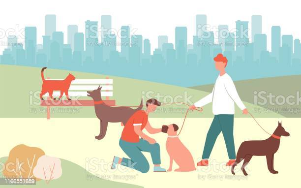 Boy pet boxer man walk dogs in park doberman bark vector id1166551689?b=1&k=6&m=1166551689&s=612x612&h=pghheevf8uag rrknsbxrhj2i7jivdmf0hean2bdfpe=