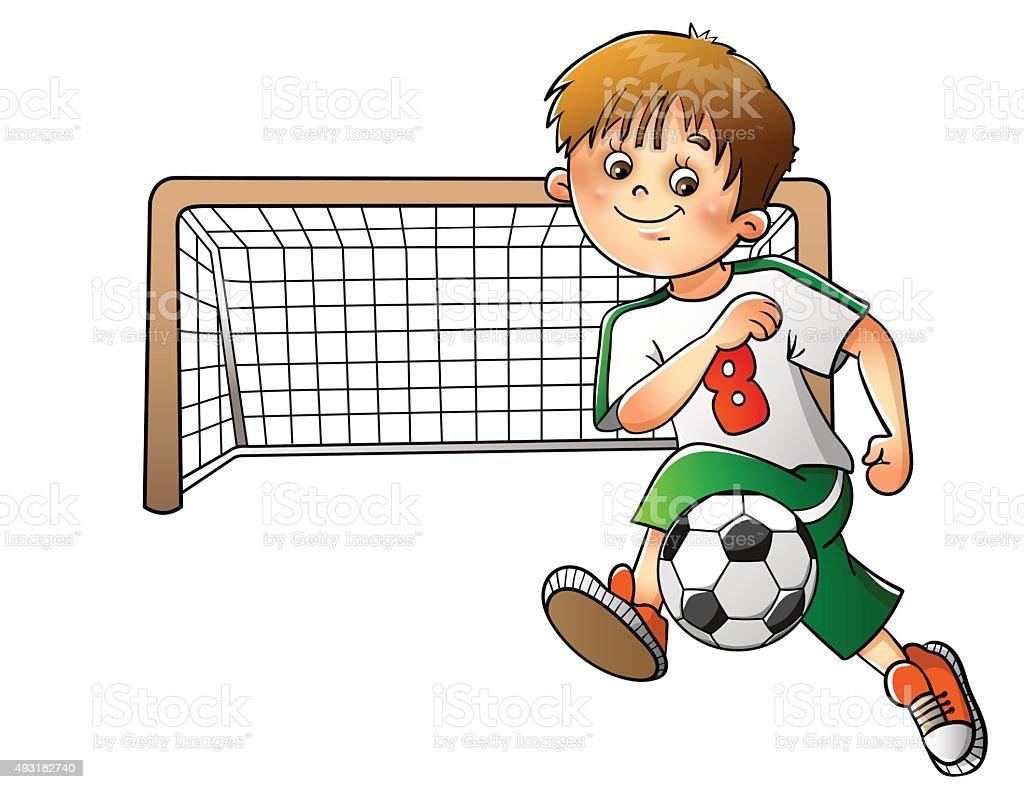 Fußballspiel Clipart